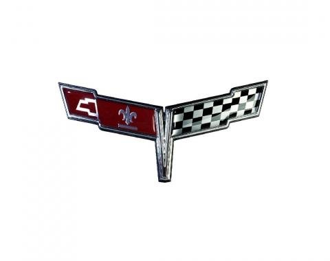 Trim Parts 80 Corvette Nose Emblem, Each 5007