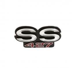 Trim Parts 68 Impala Grille Emblem, Impala, SS 427, Each 2700