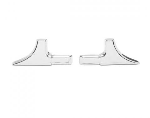 Trim Parts 70-72 Chevelle Front Vinyl Top Trim, Pair 4724