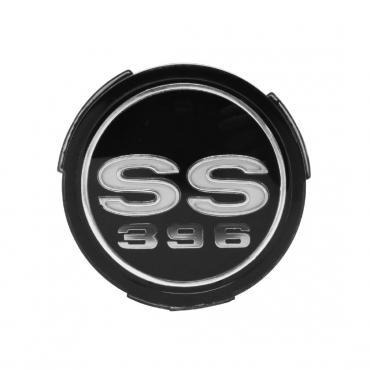 Trim Parts 68 Chevelle Wheel Cover Emblem, SS 396, Each 4590