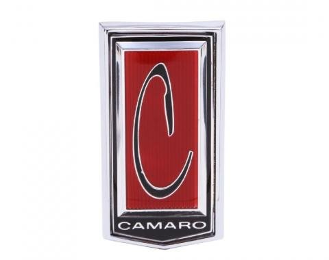 Trim Parts 71-74 Camaro Front Header Panel Emblem, Each 6821