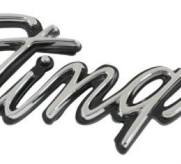 Trim Parts 74-76 Corvette Front Fender Emblem, Stingray, Each 5238