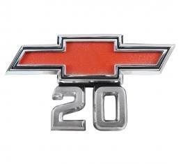 Trim Parts 67-68 Chevrolet and GMC Truck Front Fender Emblem, 20, Pair 9526