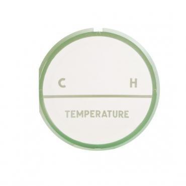 Trim Parts 57 Full-Size Chevrolet Temperature Gauge Face, Each 1418