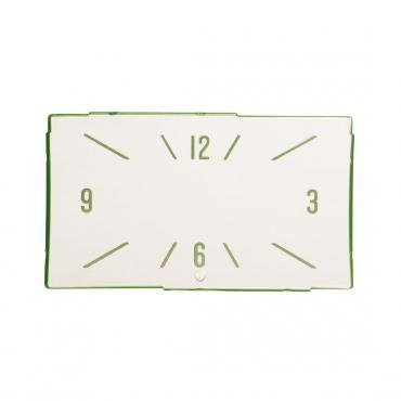Trim Parts 57 Full-Size Chevrolet Clock Face, Westclox and New Haven, Each 1422