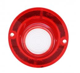 Trim Parts 62 Full-Size Chevrolet Red Back Up Light Lens Without Trim, Each A2160