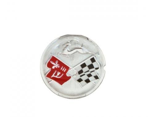 Trim Parts 58-60 Impala Rear Speaker Emblem, Each 2025