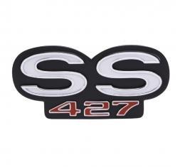 Trim Parts 69 Camaro Rear Emblem, SS 427, Each 6726