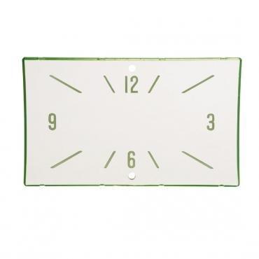 Trim Parts 57 Full-Size Chevrolet Clock Face, Hamilton, 2 Holes, Each 1420