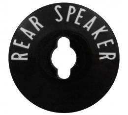 Trim Parts 57 Full-Size Chevrolet Rear Speaker Bezel, Each 1433