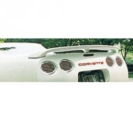 Corvette Rear Wing, Convertible/Fixed Roof Coupe, Aero, 1998-2004