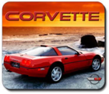Corvette Sunset '90 ZR1, Mouse Pad