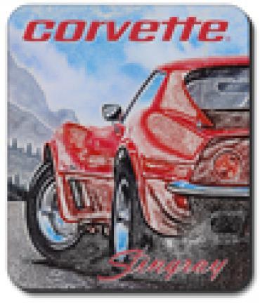 Corvette Red Stingray, Mouse Pad