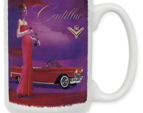 Cadillac Vintage Ad Coffee Mug