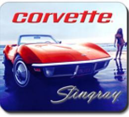 Corvette Beach Vette Mouse Pad