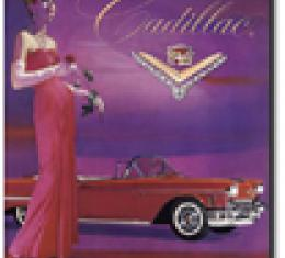 Cadillac Vintage Ad Mouse Pad
