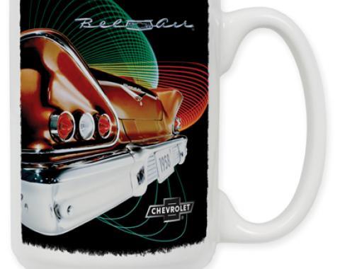 58 Chevy Vintage Ad Coffee Mug