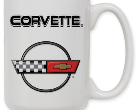 Corvette C4 Logo Coffee Mug