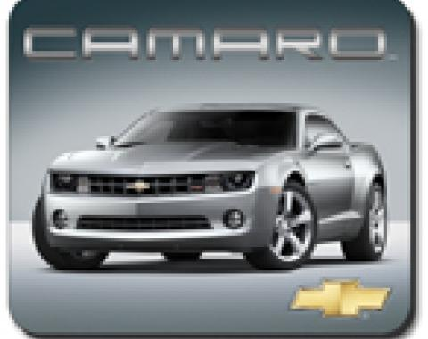 Silver Camaro Mouse Pad