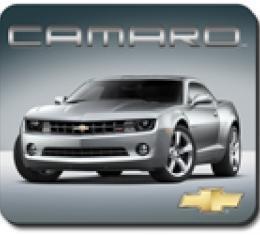 Silver Camaro Mouse Pad