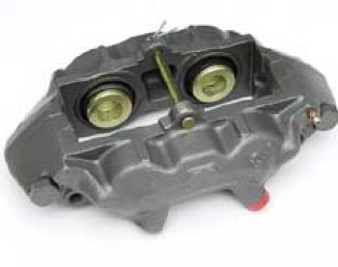 Corvette Brake Caliper, Right Front, Stainless Steel Sleeved Lip Seal, Remanufactured, 1965-1982