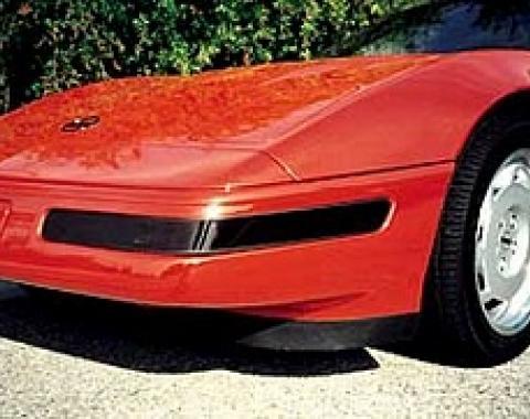 Corvette Black-Out Light Kit, Front, Smoke Gray, 1991-1996