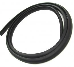 Precision Rear Window Weatherstrip Seal, Without Trim Groove WBL D1067 T