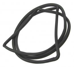 Precision Hardtop Models-Windshield Weatherstrip Seal, Works With Chrome Trim That Inserts into Body Clips WCR D608 A
