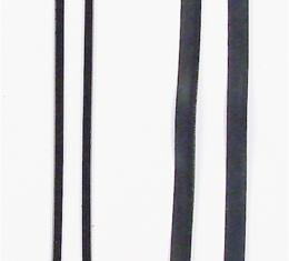 Precision Beltline Molding Kit, Inner/Outer, Left and Right Hand, 4 Piece Kit WFK 1110 51 A
