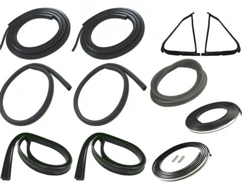 Precision Complete Weatherstrip Seal Kit-Models With Weatherstrip Trim Groove CWK 2111 87