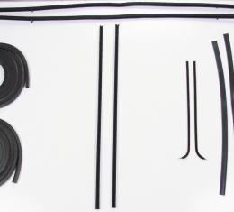Precision Door Weatherstrip Seal Kit, Glassruns, Beltlines and Door Seals. Left and Right, 10 Piece kit DK 1110 51
