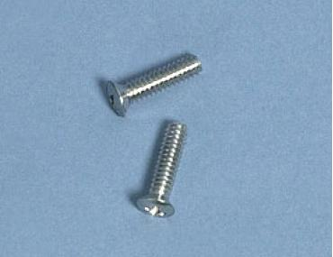 Corvette Door Molding Screws, Upper, Rear, 1958-1962