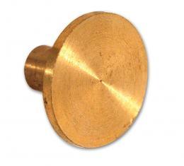 Corvette Distributor Side Gear Bronze Button, 1962-1974