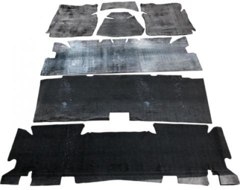 Camaro Under Carpet Sound Deadener Set, Asphalt Mat, 1970-1981