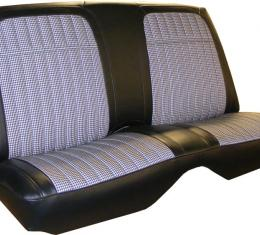 PUI 1968 Chevrolet Camaro Rear Seat Covers, Coupe 68HTC