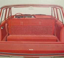 PUI 1962-1964 Chevrolet Impala Cargo Area Cover, Wagon 62BRWR