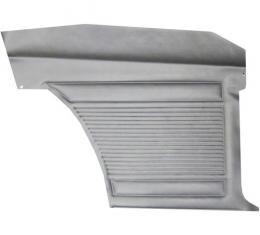 PUI Standard Rear Door Panel 1968 Nova 2-Door Sedan D360C | Black 1968