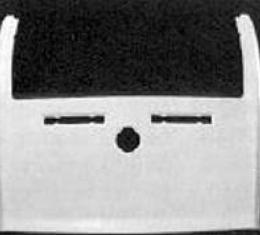 Corvette Rear Upper Deck, Convertible, ACI, 1968-1973