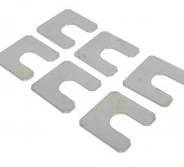 Corvette Body Mount U-Shaped Shim, Set of 6, 1968-1982