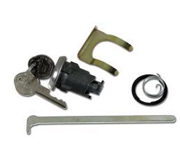 Corvette Trunk Lock, With Keys, 1959-1962