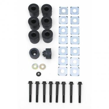 Corvette Body Mounting Kit, Coupe/Convertible (68-72 Replacement), 1973-1982