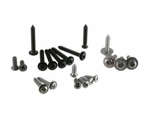 Corvette Dash Trim Screws, 1968-1982