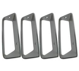 Corvette Side Fender Louver Set, Right, 1968-1969