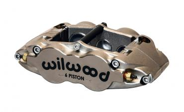 Wilwood Brakes Forged Narrow Superlite 6 Radial MT-Quick-Silver 120-11781-N