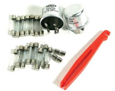 Corvette Fuse & Flasher Kit, 22 Piece, 1975-1977