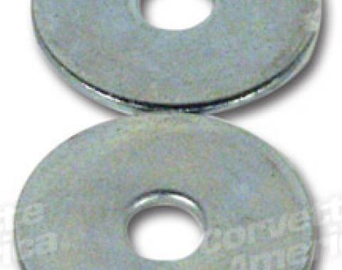 Corvette Side Exhaust Pipe Rear Large Washers, 1965-1967