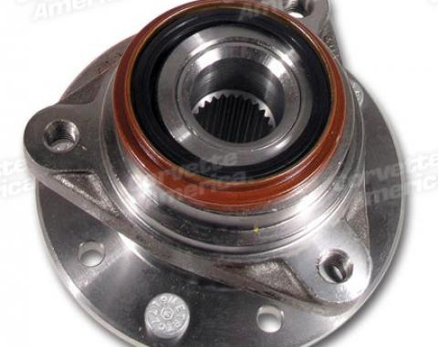 Corvette Hub & Wheel Bearing, Rear, 1984-1996