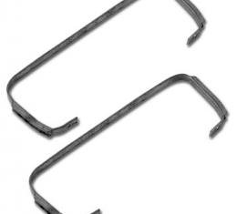 Corvette Heater Core Straps, With Air Conditioning, 1963-1967