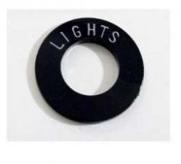 Chevy Headlights Insert, Plastic, 1955-1956