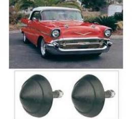 Chevy Rubber Bumper Tips, 1957